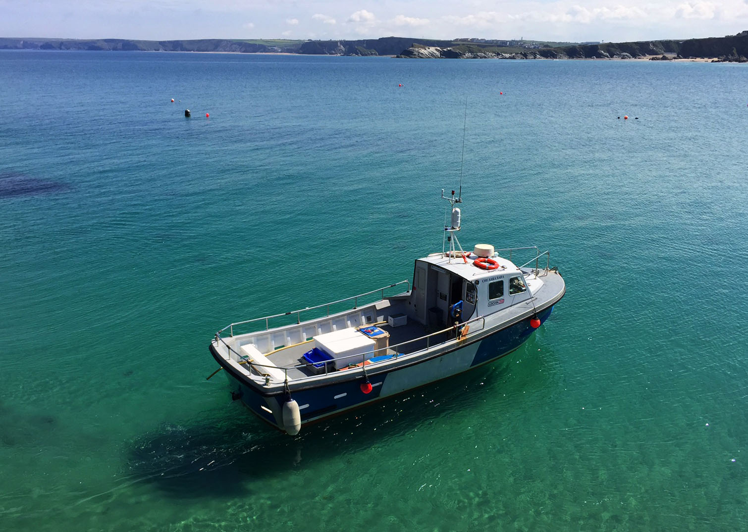 Welcome aboard the Newquay Harbour Boatmen Association!